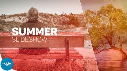پروژه افترافکت اسلایدشو تابستانی Summer Slideshow