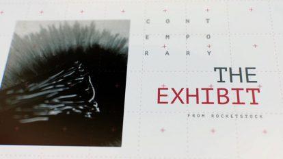 پروژه افترافکت نمایش آثار هنری The Exhibit