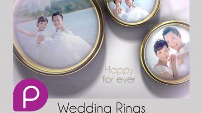 پروژه افترافکت نمایش تصاویر حلقه های عروسی Wedding Rings