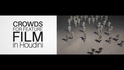 آموزش شبیه سازی جمعیت برای فیلم در هودینی