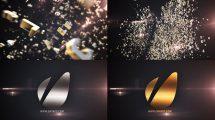 پروژه افترافکت نمایش لوگو با حروف الفبا Letters Logo Text Reveal
