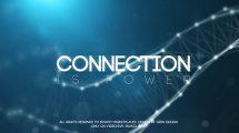 پروژه افترافکت تریلر سینمایی Connection Teaser Trailer Trailer