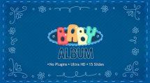پروژه افترافکت آلبوم عکس کودک Baby Album