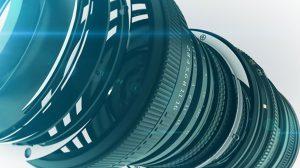 پروژه سینمافوردی نمایش لوگو دوربین Camera Logo