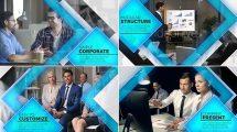 پروژه افترافکت پرزنتیشن شرکت Company Presentation