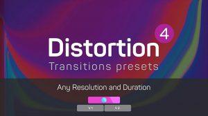 مجموعه پریست پریمیر ترانزیشن دیستورشن Distortion Transitions Presets 4