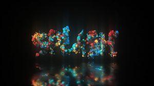 پروژه افترافکت نمایش لوگو با حباب های پارتیکلی Glow Particle Logo