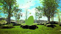 پروژه افترافکت نمایش لوگو در طبیعت Growing Tree Nature Logo