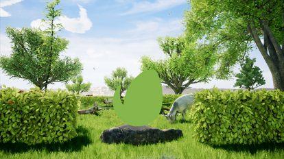 پروژه افترافکت نمایش لوگو سال جدید Happy Natural Eid