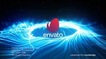 پروژه افترافکت نمایش لوگو با امواج انرژی Impact Logo Opener