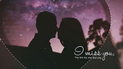 پروژه افترافکت داستان عاشقانه Love Story