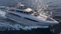پروژه افترافکت نمایش لوگو با قایق لوکس Luxury Yacht