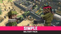 مجموعه مدل سه بعدی کارتونی نظامی Military Cartoon Assets