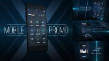 پروژه افترافکت تیزر تبلیغاتی اپلیکیشن موبایل Mobile Application Promo