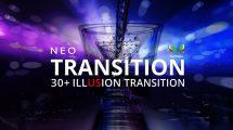 پروژه افترافکت مجموعه ترانزیشن Neo Illusion Transitions Pack