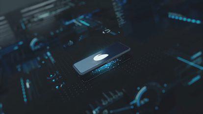پروژه افترافکت نمایش لوگو روی موبایل Phone Logo Reveal