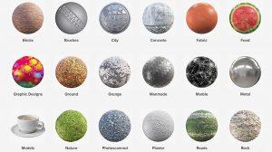 مجموعه جامع تکسچر حرفه ای برای کار سه بعدی Poliigon Textures Collection