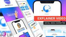 پروژه افترافکت تیزر تبلیغاتی بازاریابی شبکه اجتماعی Social Media Marketing
