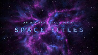 پروژه افترافکت تریلر فضایی Space Trailer