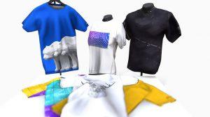 مدل سه بعدی موکاپ تی شرت T-Shirt Mock-Up