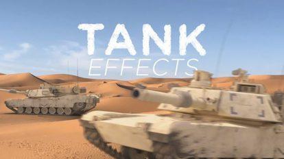 مجموعه ویدیوی موشن گرافیک تانک جنگی Tank FX