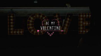 پروژه افترافکت نمایش عناوین ولنتاین Valentine Titles
