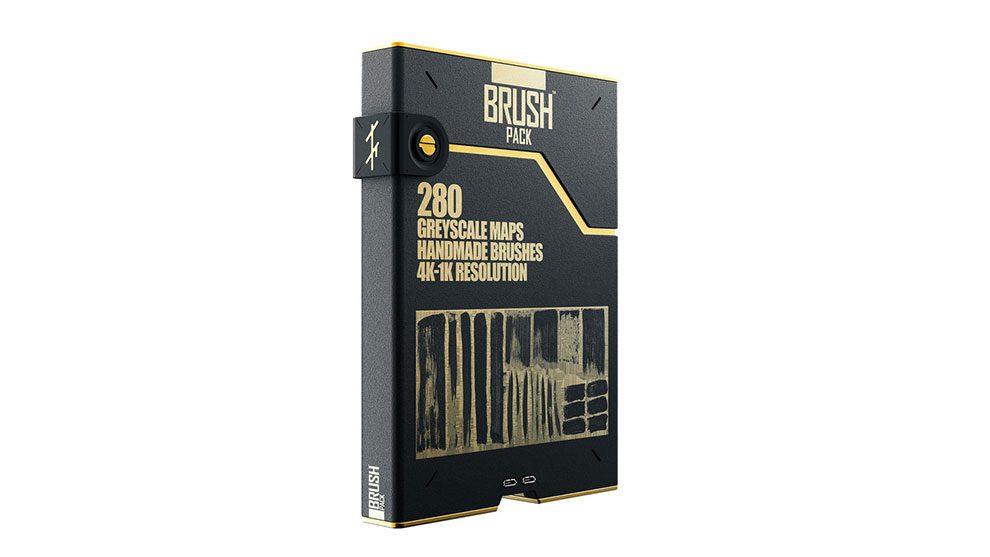 مجموعه تکسچر و الگوی براش نقاشی Brush Pack