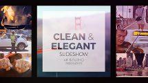 پروژه افترافکت اسلایدشو Clean Elegant Slideshow