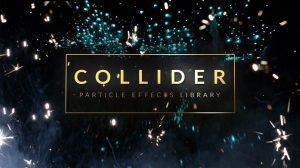مجموعه فوتیج افکت پارتیکلی برای فیلم Collider