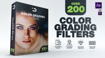 پروژه افترافکت فیلترهای ارتقای رنگ Color Grading Filters
