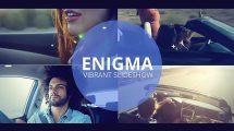 پروژه افترافکت اسلایدشو Enigma Vibrant Slideshow