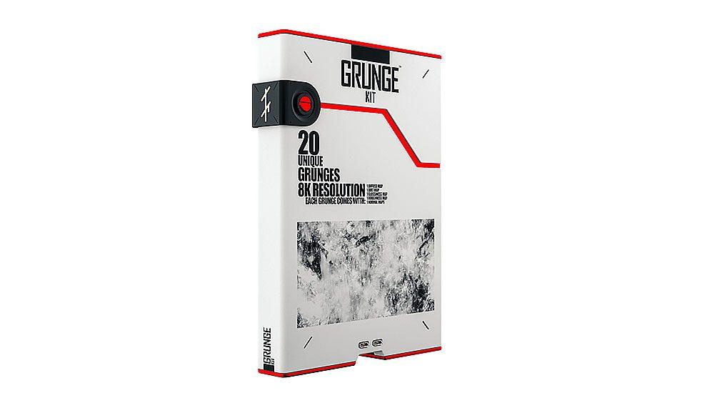 مجموعه تکسچر و الگوی گرانج Grunge Kit