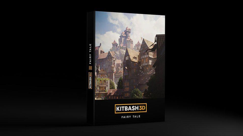 مجموعه مدل سه بعدی افسانه ای Kitbash3D Fairy Tale