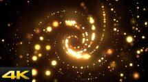 ویدیوی موشن گرافیک تونل نور Light Glow Tunnel