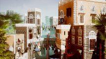 مجموعه مدل سه بعدی اجزای شهری خاورمیانه