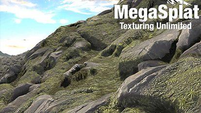 مجموعه تکسچر سه بعدی سطح زمین Megasplat