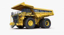 مدل سه بعدی کامیون معدن Mining Dump Truck