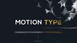 پروژه افترافکت مجموعه عناوین متحرک Motion Type Text