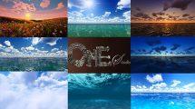 مجموعه ویدیوی موشن گرافیک طبیعت Nature Bundle