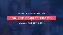 پروژه افترافکت تیزر تبلیغاتی دوره آموزشی Online Course Promo Pack