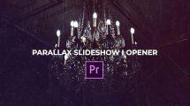 پروژه پریمیر اسلایدشو پارالکس Parallax Slideshow