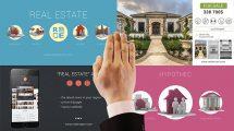 پروژه افترافکت تیزر تبلیغاتی املاک Real Estate Kit