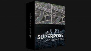 پلاگین افترافکت Superpose 2 ابزار پاک کردن خودکار اشیا متحرک
