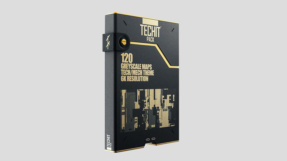 مجموعه تکسچر ساخت برجستگی تکنولوژیکی Techit Pack