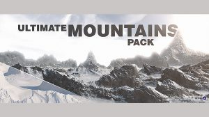 پروژه سینمافوردی مجموعه کوه Ultimate Mountains Pack