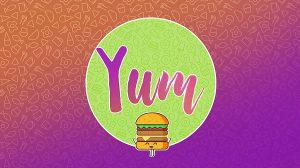 مجموعه ویدیوی موشن گرافیک برای تیزرهای تبلیغاتی غذا Yum