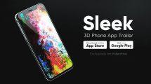 پروژه افترافکت تریلر اپلیکیشن 3D Phone App Trailer