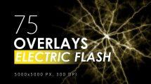 مجموعه تصاویر افکت الکتریکی و رعد و برق