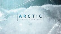 مجموعه 79 فوتیج برف و یخ Arctic