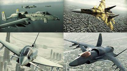 مجموعه مدل سه بعدی هواپیما و جت جنگی Aircrafts 3D Models
